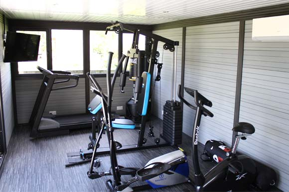 Garden Gym Retreat Nottingham