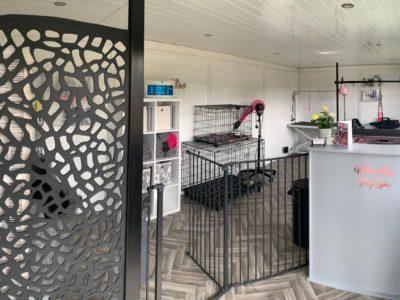 Nottingham Garden Room Dog Groomer Finishing Inside Piece