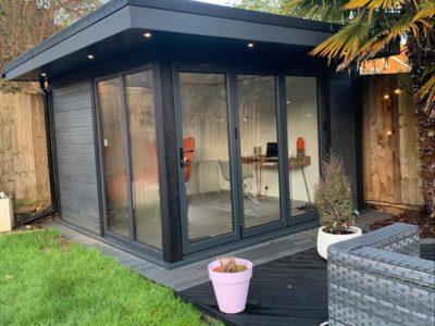 Garden Room In Nottingham, Job Complete