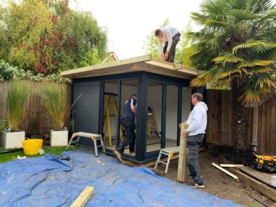 Garden Room In Nottingham, Nearing Completion